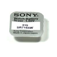 SONY 1 pile 315 SR716SW / SR716 - 1,55V