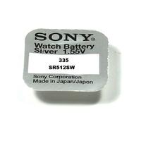 SONY 1 Pile Bouton 335 - SR512SW - 1,55 volt