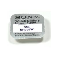 SONY 1 Pile Bouton  SR726W - 396 - AG2 1,55 volt