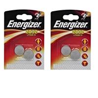 Energizer lot de 4 piles CR2032 Lithium 3v