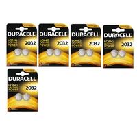 DURACELL - Lot de 10 Piles CR2032 lithium 3v Duracell