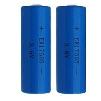 EUNICELL 2 piles ER17505 - LS17500 3.6 V 3.3Ah