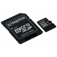 carte mémoire Kingston Canvas Select microSDHC 32 Go classe 10 UHS-I U1 - 80 Mo / s + adaptateur