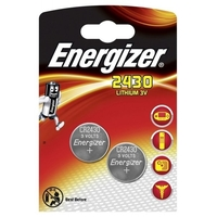 2 piles CR2430 Energizer lithium 3 volt