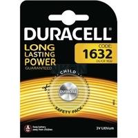 1 pile CR1632 Duracell lithium 3 volt