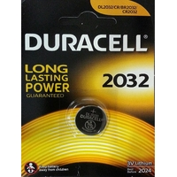 Duracell - Pile boutons au lithium CR2032 -3v