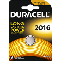 Duracell - Pile boutons au lithium CR2016 -3v