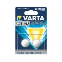 Blister de 2 piles CR2032 Lithium 3v Varta