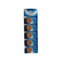 EUNICELL 5 piles plates CR2450 CR 2450 DL2450 ECR2450 BR2450 5029LC 3V