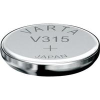 1 Pile bouton 315 Oxyde d'argent 20 mAh 1.55 V Varta V315