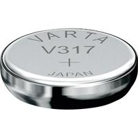 1 Pile bouton 317 Oxyde d'argent 12 mAh 1.55 V Varta V317