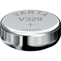 1 Pile bouton 329 Oxyde d'argent 39 mAh 1.55 V Varta Electronics SR731 V329