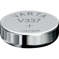 1 Pile bouton 337 Oxyde d'argent 8 mAh 1.55 V Varta Electronics SR416  V337