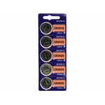 5 piles  CR2025 Pile Bouton Lithium - 3V - SONYX5