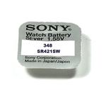 SONY 1 Pile Bouton Sony SR421SW - 348
