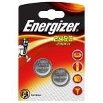 Blister de 2 piles CR2450 Energizer Lithium 3 volt