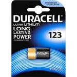 1 pile photo au lithium Duracell CR123 3 volt