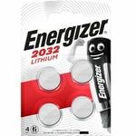1 blister de 4 CR2032 Energizer lithium 3 volt