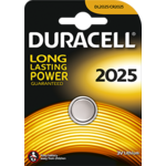 Duracell - Pile boutons au lithium CR2025 -3v