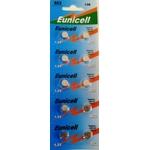 10 Piles alcaline AG3 / 392 / LR41 / SR41SW- 1,5v de marque Eunicell (blister de 10)