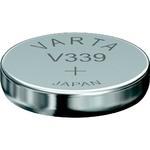 1Pile bouton 339 Oxyde d'argent 11 mAh 1.55 V Varta Electronics SR614 V339