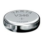 1 Pile bouton 346 Oxyde d'argent 10 mAh 1.55 V Varta Electronics  V346 SR712SW