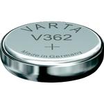 1 Pile bouton 362 Oxyde d'argent 21 mAh 1.55 V Varta V362
