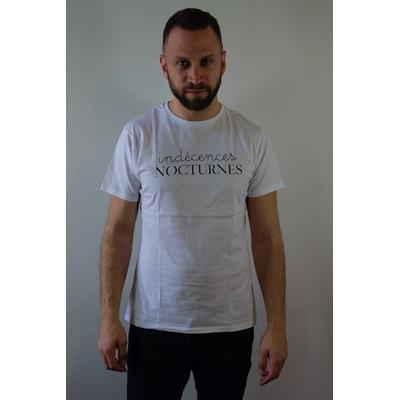 """T-shirt """"Indécences Nocturnes"""" Club Confidences - Taille M"""