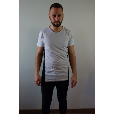 T-shirt long bicolore Selected - Taille M