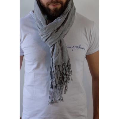 Echarpe grise Zara