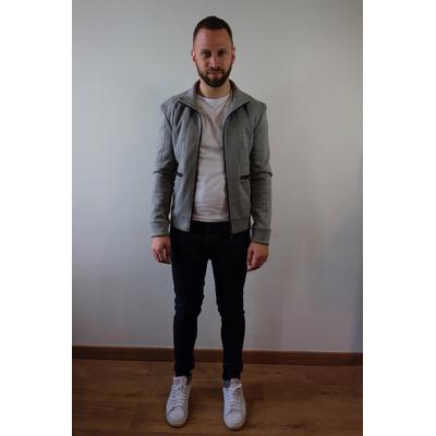 Veste grise Zara - Taille 38 (M)