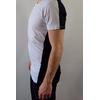 T-shirt-Long-Sleeve-Selected-bicolore-noir-blanc-2