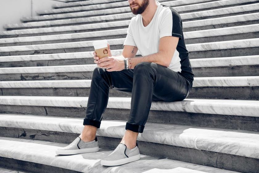 T-shirt-Long-Sleeve-Selected-bicolore-noir-blanc-5