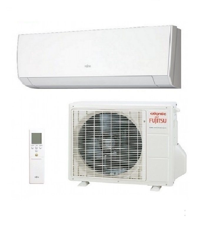 Climatisation mono split murale atlantic fujitsu inverter - Clim reversible atlantic ...