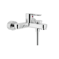 NOBILI - Mitigeur bain douche mural Collection ABC Chrome