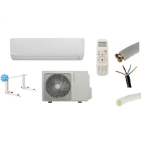 PRET A POSER CLIMATISATION ATLANTIC FUJITSU 2700W + KIT DE POSE 12 METRES + SUPPORT MURAL