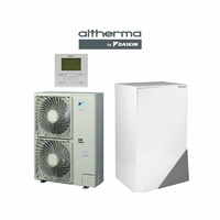 Pack Pompe à Chaleur daikin Altherma  11kw bi bloc basse température réversible + télécommande COMPLET