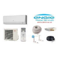 Pack climatisation ATLANTIC ASYG 7 LLCE 2KW + Kit de pose 10 mètres + support + MISE EN SERVICE INCLUSE