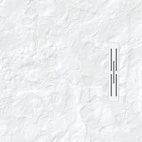 Receveur KINEDO KINEROCK Blanc 100 x 100 cm aspect minéral + bonde extra plate