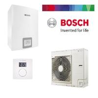 Pack pompe à chaleur BOSCH split air/eau 6KW COMPRESS 3000 AWS complète