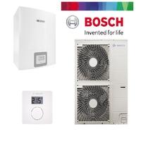 Pack pompe à chaleur BOSCH split air/eau  13 KW COMPRESS 3000AWS complète