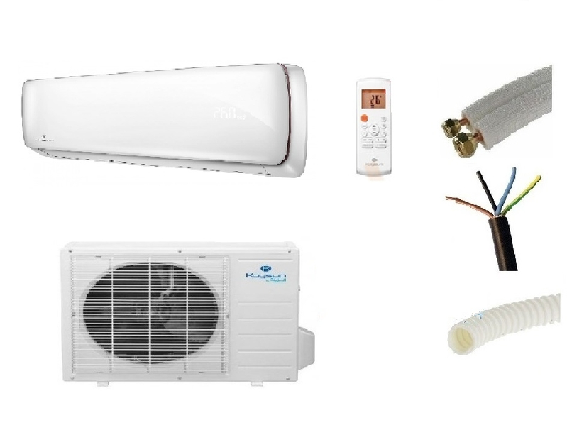 pret a poser climatisation kaysun 3500w aurea 2 reversible inverter murale mono split kit de. Black Bedroom Furniture Sets. Home Design Ideas