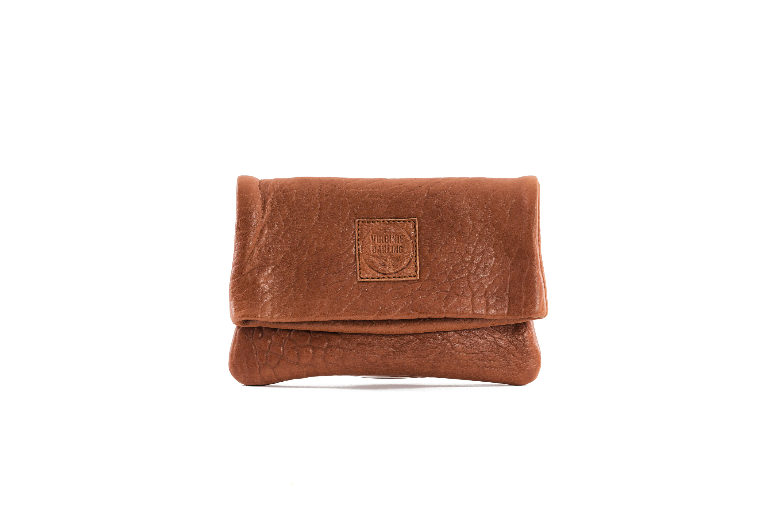 CLUTCH ELENA SMALL BUBBLE HONEY - Nouvelle collection