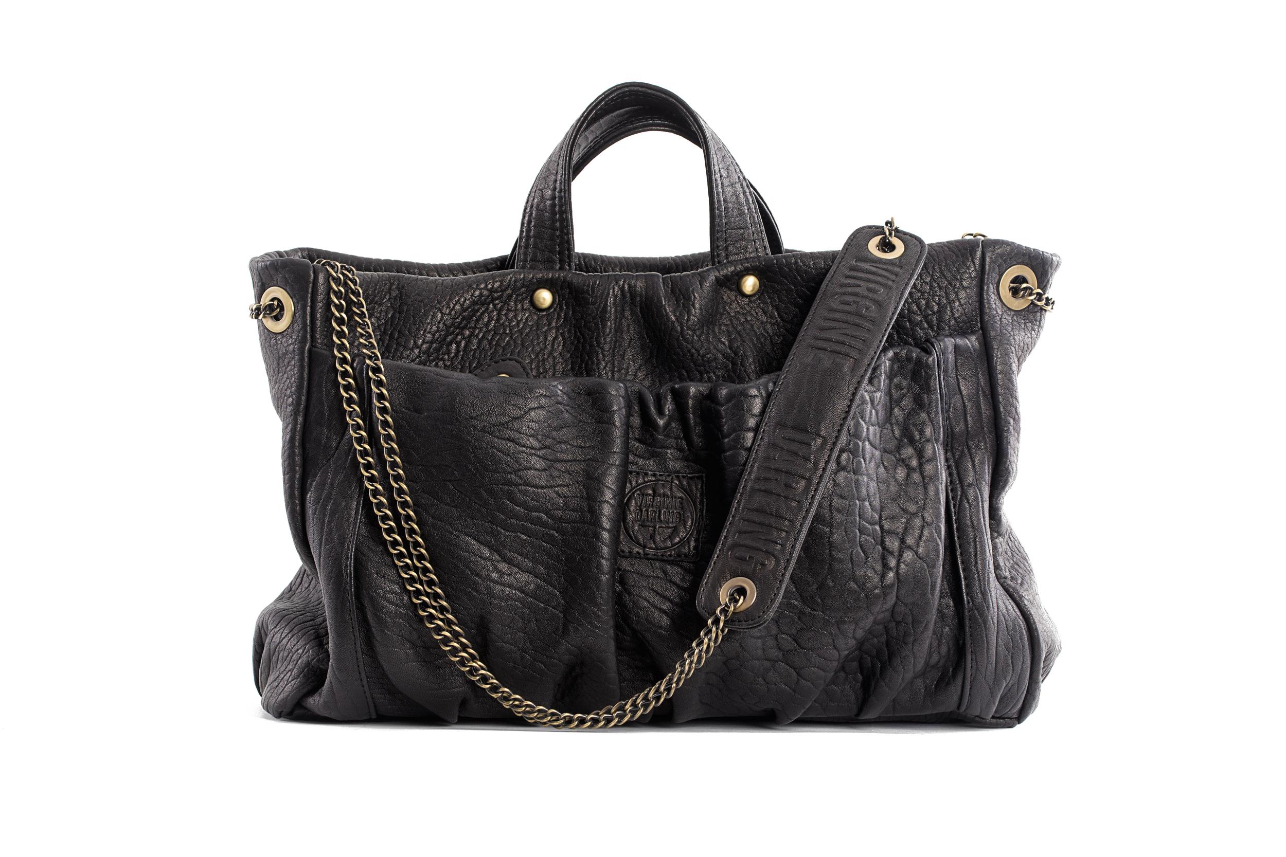 BAG REGINA BUBBLE BLACK - Nouvelle Collection