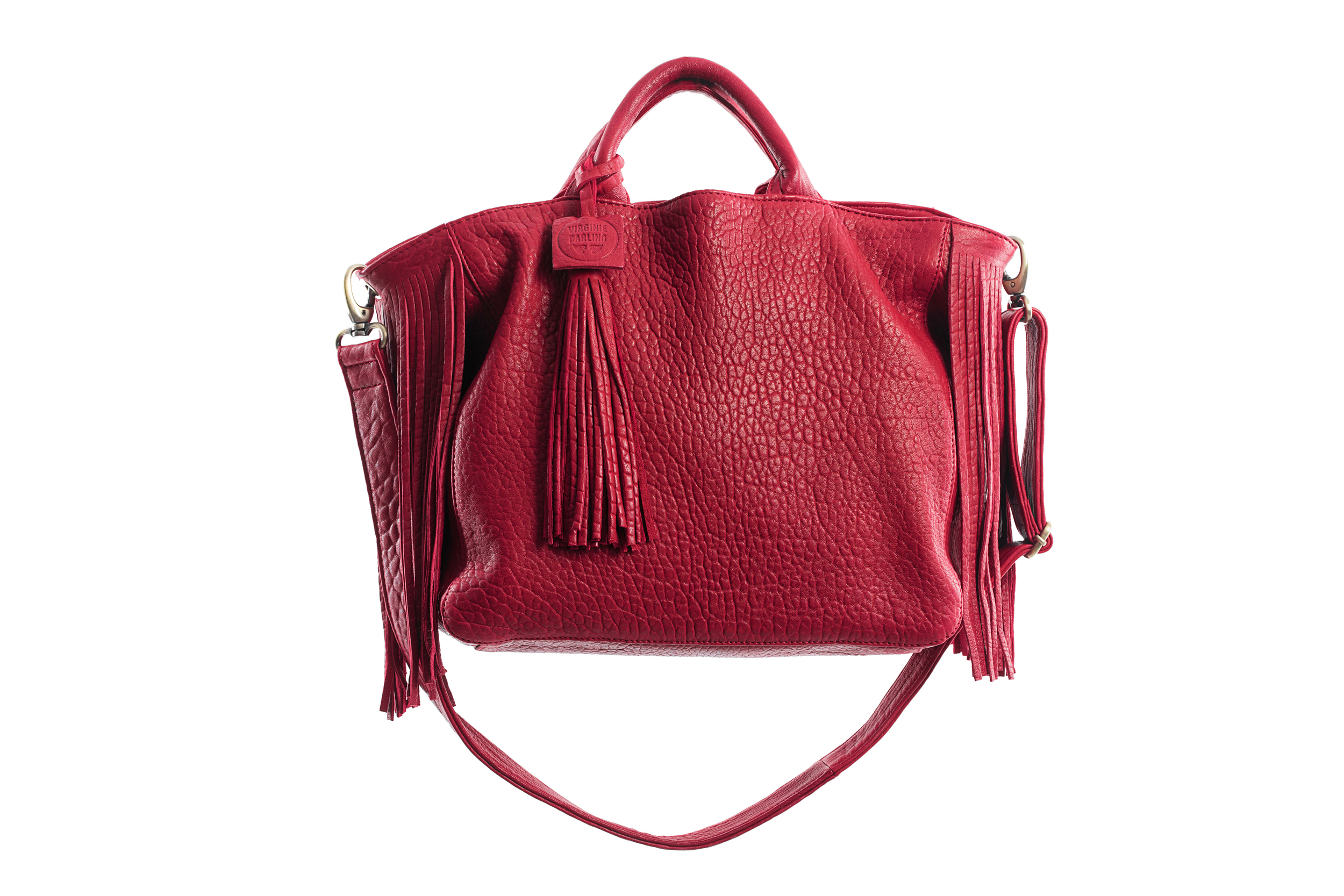 SAC MAXI DARLING BUBBLE ROUGE