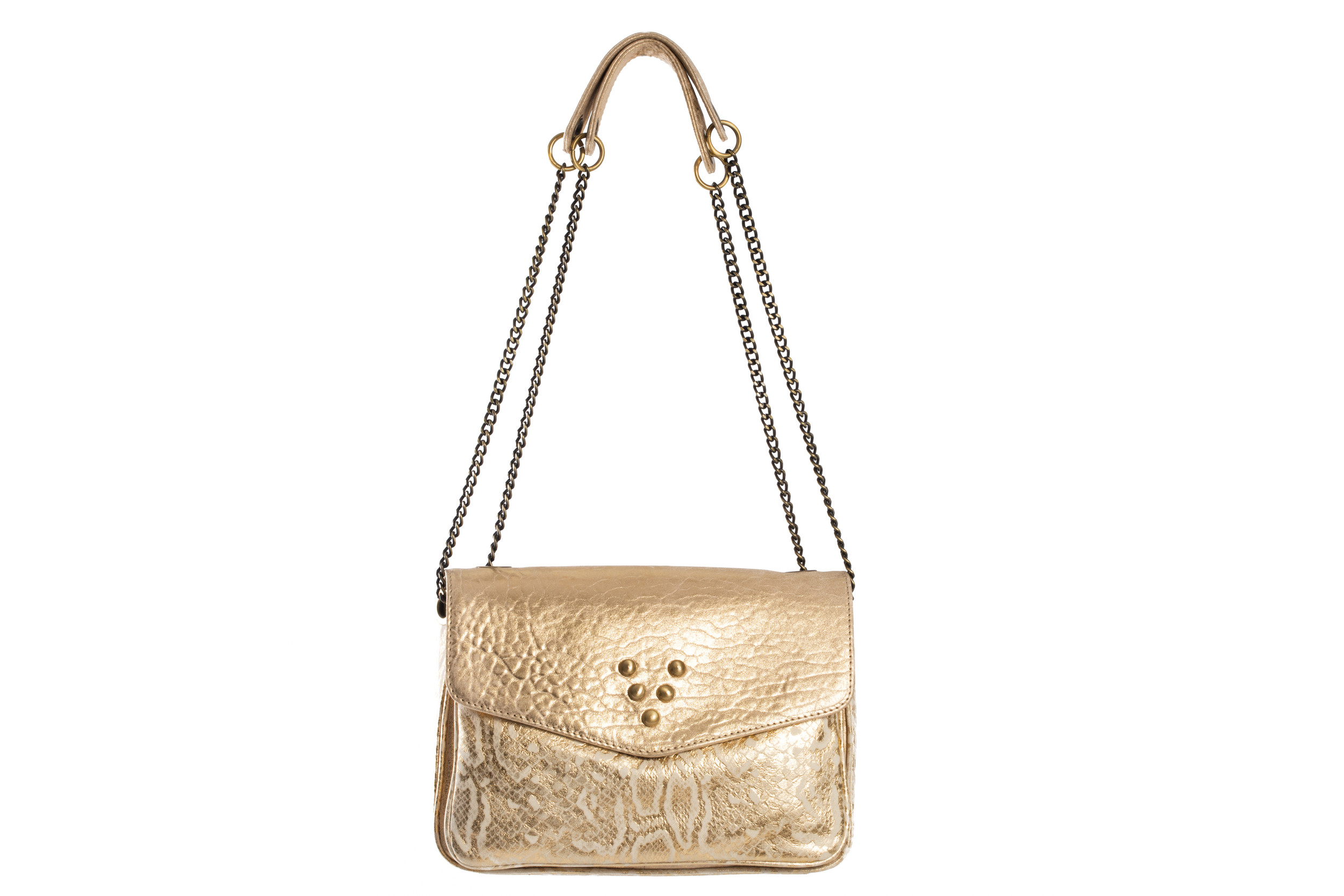 SAC CHACHA WHITE OR MIX PYTHON / BUBBLE - Nouvelle Collection