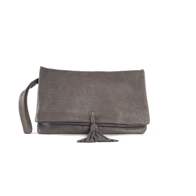 CLUTCH ELENA MEDIUM BUBBLE KAKI - Nouvelle Collection