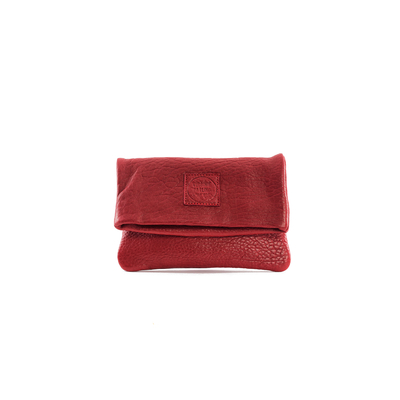 CLUTCH ELENA SMALL BUBBLE ROUGE - Nouvelle collection