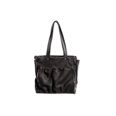 CABAS REGINA BUBBLE BLACK - Nouvelle Collection