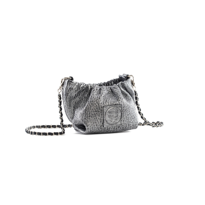 MINI POUCH REGINA BUBBLE ARGENT - Nouvelle Collection